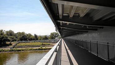 Most Łazienkowski. Nowa kładka pieszo-rowerowa
