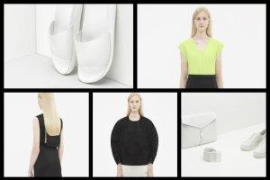 Lookbook COS na wiosn�-lato 2015 - czer�, biel i kropla koloru w nowych propozycjach marki [ZDJ�CIA]