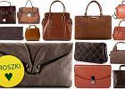 Br�zowe torebki - ponad 50 propozycji!