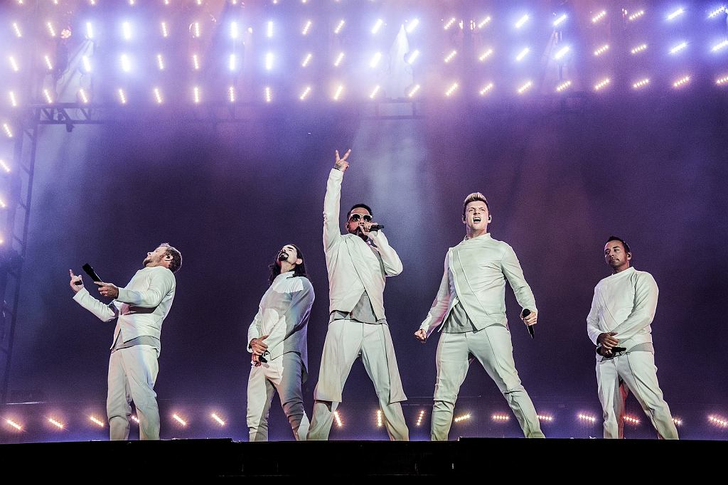 Brian Littrell, Kevin Richardson, AJ McLean, Nick Carter, Howie Dorough - Backstreet Boys