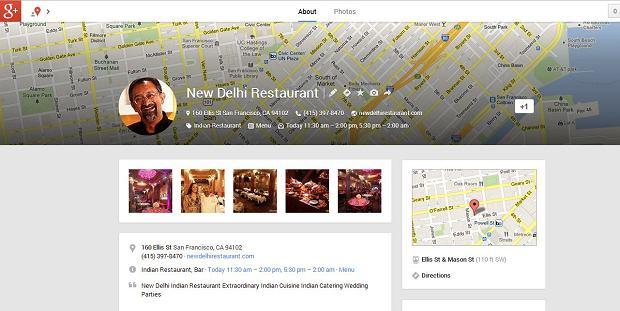 Profil firmy w Google Plus
