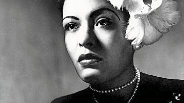 Billie Holiday, nazywana też Lady Day - piosenkarka jazzowa, wśród jej największych przebojów są 'Summertime', 'God Bless the Child', 'I've Got My Love to Keep Me Warm'.