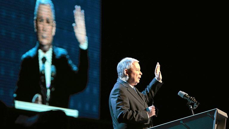 Rok 2010, kongres PiS w Poznaniu, Jarosław Kaczyński wybrany na kolejną kadencję
