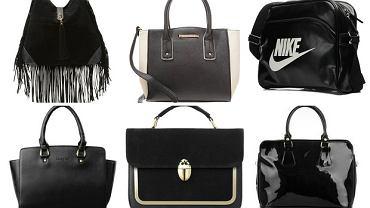e716dbf38255e Czarna torebka idealna do każdej stylizacji - przegląd do 150zł
