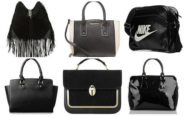 599ebce3540f7 Czarna torebka idealna do każdej stylizacji - przegląd do 150zł