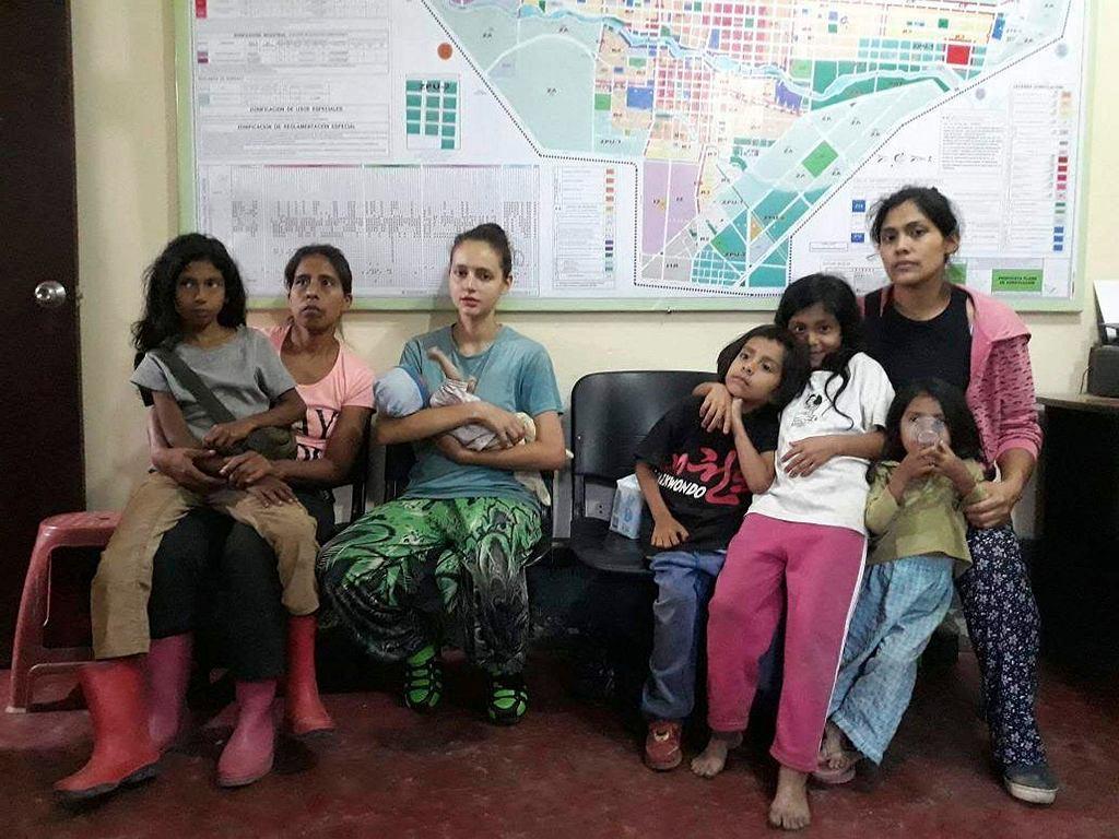 Hiszpanka Patricia Aguilar i dwie Peruwianki, oraz piątka dzieci, uratowane od samozwańczego lidera sekty w Peru