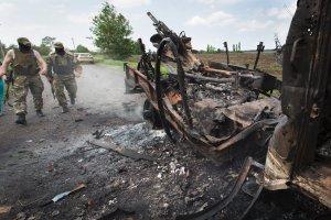 Starcia w okolicach Kramatorska, w Kijowie ko�czy si� pierwszy okr�g�y st� [PODSUMOWANIE]