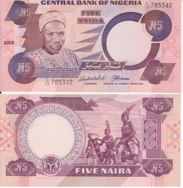 Naira, waluta Nigerii