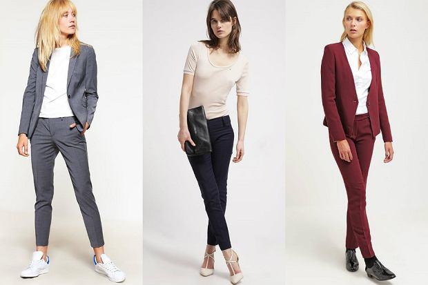 Damskie garnitury - trzy stylizacje idealne do pracy