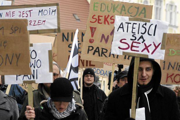 Marsz Ateistów w Zielonej Górze