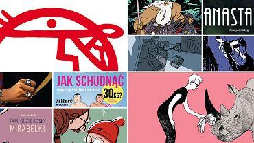 Komiks roku 'Wyborczej' 2017 - okładki 10. najlepszych komiksów roku