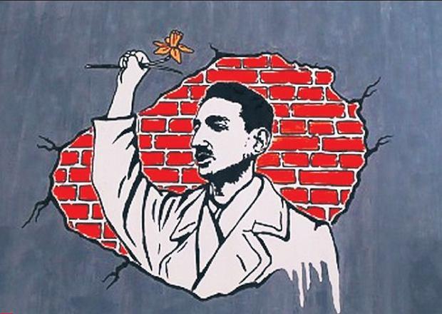 Znany artysta stworzy mural z markiem edelmanem for Mural ursynow