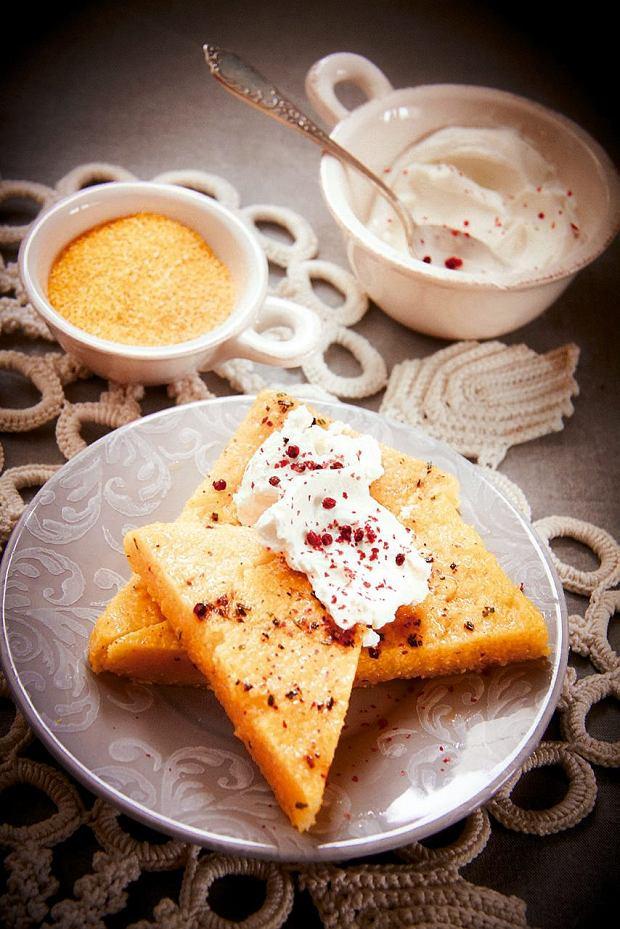 Polenta z rozmarynem i chilli wg pomysłu Agnieszki Kręglickiej