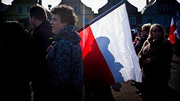 Protest KOD w Łomży
