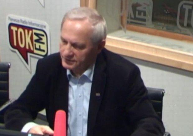 Stanisław Koziej w studiu radia TOK FM