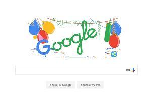 Kiedy powsta�o Google? Dzi� ko�czy 18 lat! Bardzo si� zmieni�o -  sam zobacz