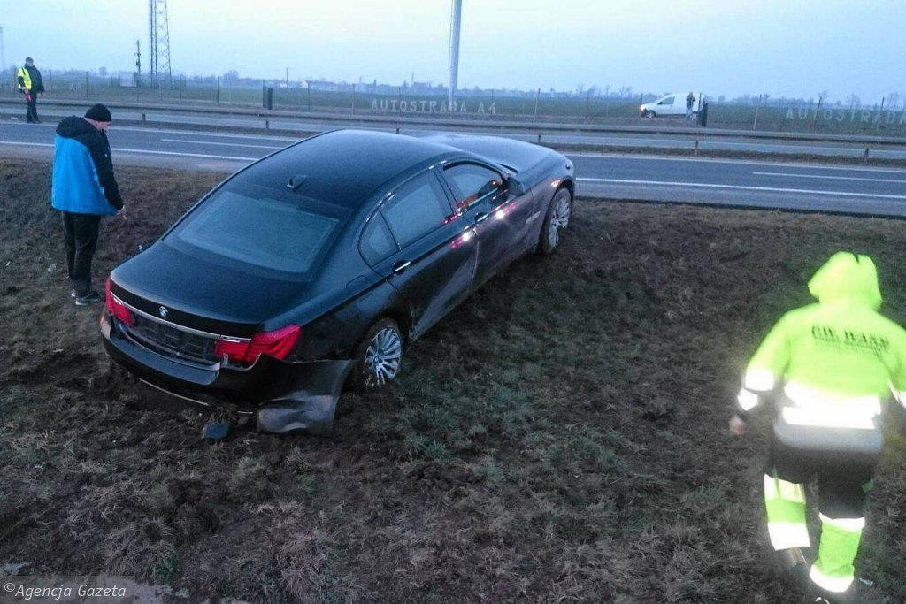 Wypadek Andrzeja Dudy. Limuzyna, którą jechał prezydent