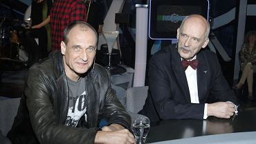 Paweł Kukiz i Janusz Korwin-Mikke.