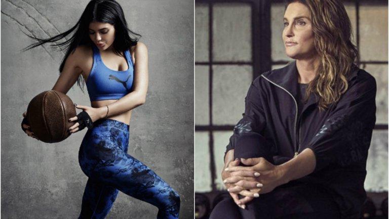 Kylie i Caitlyn Jenner w nowych kampaniach