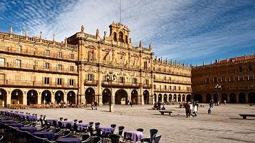 Hiszpania zabytki - Kastylia i Leon, Plaza Mayor, Salamanka / Shutterstock
