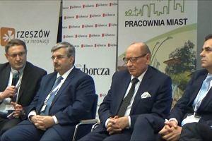Pracownia miast w Rzeszowie. Grzegorz Masłowski, prorektor PRz podsumowuje panel dyskusyjny