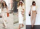 Klasyka na wiosnę: beżowe ubrania i dodatki w modnych stylizacjach