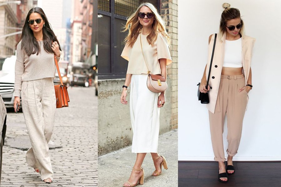 37d960c211 Klasyka na wiosnę  beżowe ubrania i dodatki w modnych stylizacjach