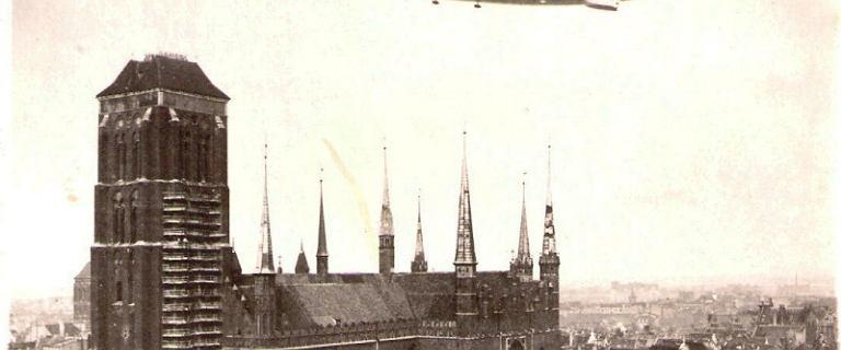 Zeppelin, Hindenburg i Columbus. Sensacyjne kolosy, które wzbudzały podziw mieszkańców Gdańska w XX w.