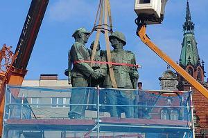 Pomnik Wdzięczności znika z Legnicy