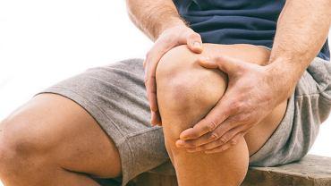 Gonartroza często jest wynikiem urazu stawu kolanowego