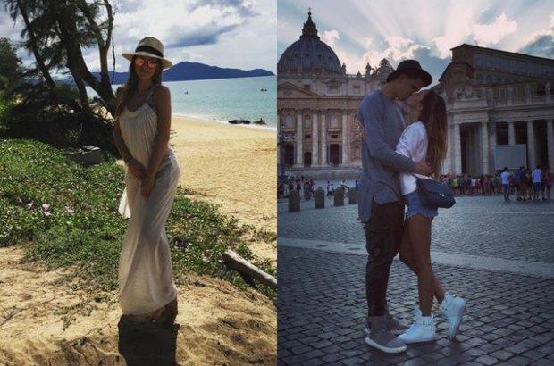 Marina Łuczenko i Wojciech Szczęsny wzięli w miniony weekend ślub w Grecji. Uroczystość uświetnił James Arthur.