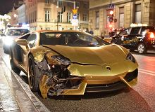 Lamborghini Aventador | Wypadek w Warszawie
