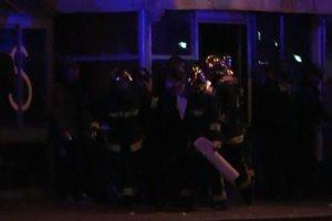 Zamachy w Pary�u. Akcja policji w sali koncertowej Bataclan