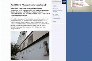 Parafianie w Austrii do polskiego proboszcza: Wynocha, chamie!