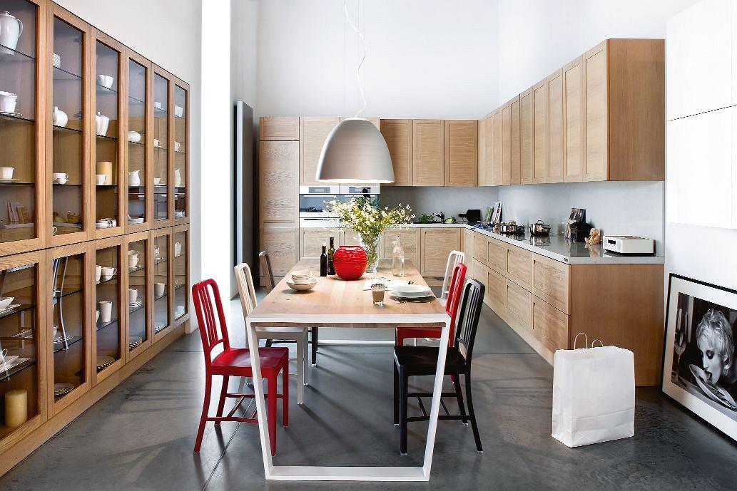 Wnętrza drewniana kuchnia -> Kuchnia Drewniana Koszt