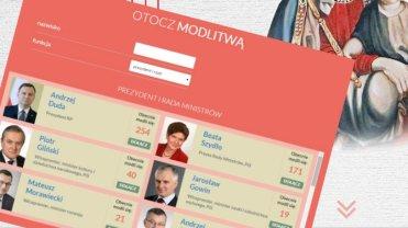 """Zapolske.pl rusza z """"modlitewn� krucjat�"""". Podaj imi� i nazwisko i zadeklaruj modlitw� za polityka"""