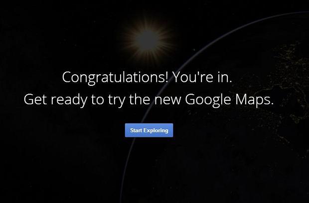Google wprowadza ca�kiem nowy wygl�d map
