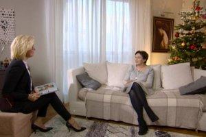 """Lukrowany wywiad M�ynarskiej z Kopacz. """"Kiedy mam co� do przemy�lenia, rzucam si� na wyk�adzin�, (...) robi� brzuszki i my�l�"""""""