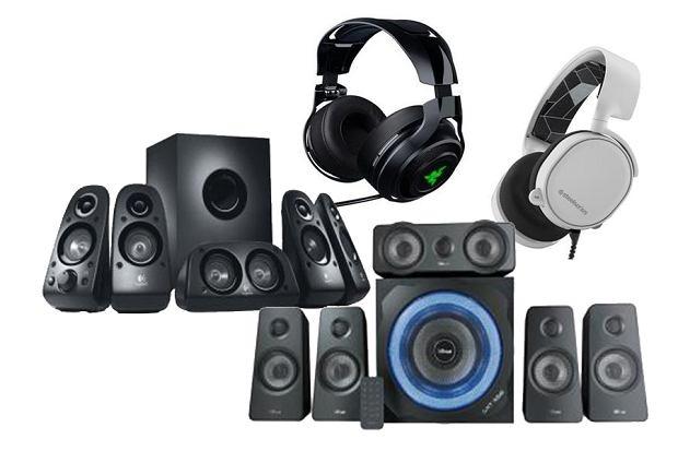 Głośniki komputerowe dla graczy