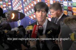 Euro 2016. Loew: To jest grupa do przej�cia, b�dziemy w niej faworytem