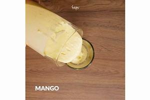 Żółta rozkosz - shake Mango Lassi