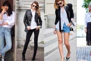 Jak nosi� bia�� koszul�? Zainspiruj si� znanymi blogerkami