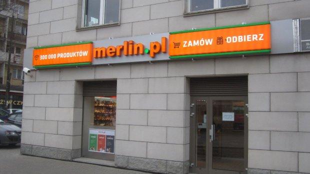 Sklep internetowy Merlin.pl z�o�y� wniosek o upad�o��