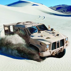 Oshkosh JLTV - oto nowy superpojazd US Army