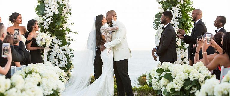 Larry English wziął ślub: Nigdy nie byliśmy bardziej szczęśliwi. Poznajcie piękną żonę gwiazdy NFL, Nicole Williams [GALERIA]