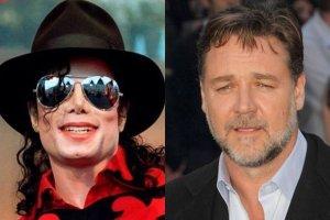 Michael Jackson, Russell Crowe