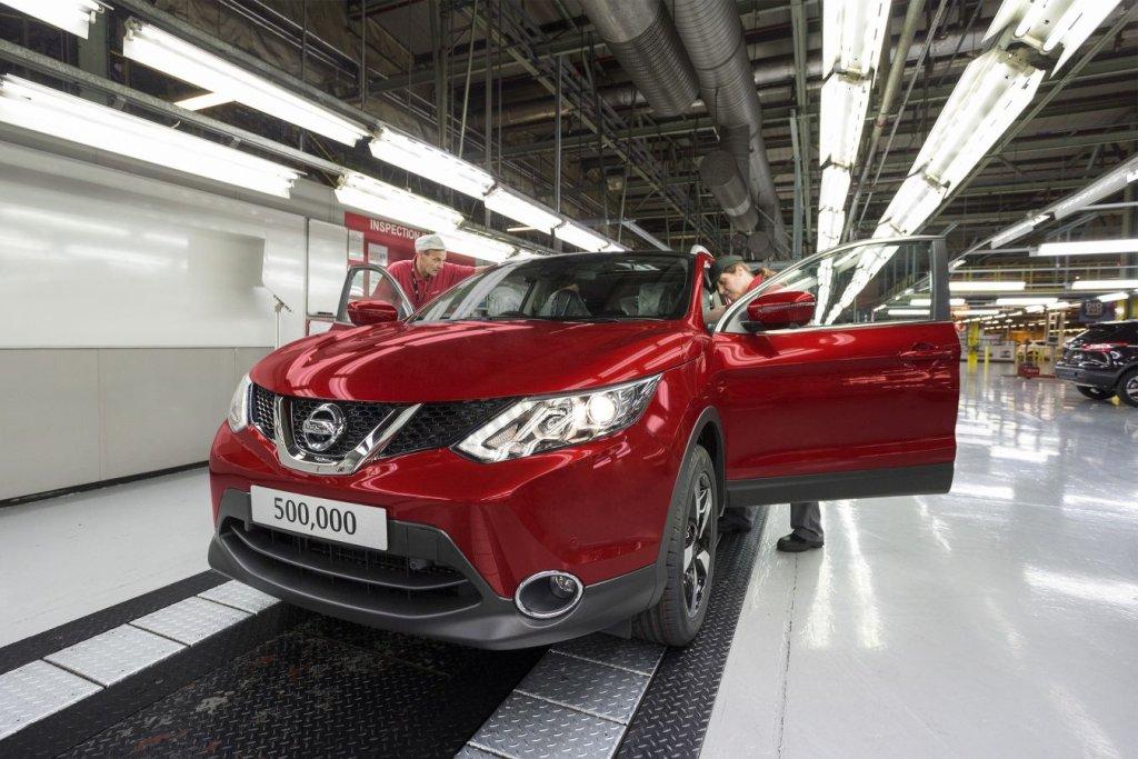 Nissan Qashqai numer 500 000