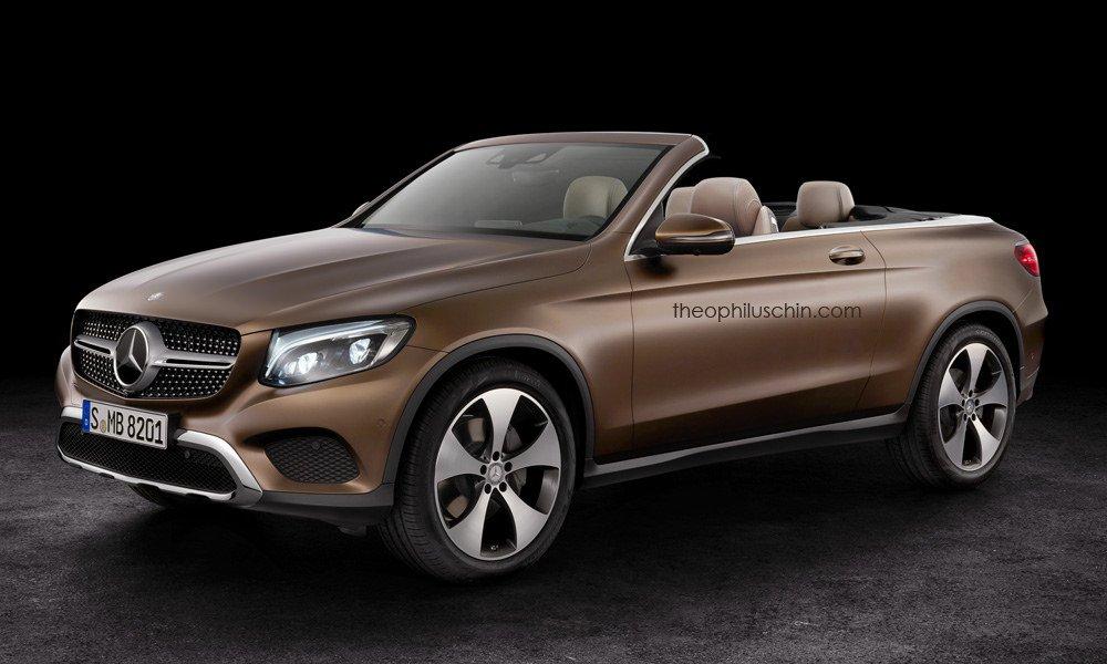 Render Mercedesa GLC Cabriolet