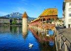 Lucerna, czyli w prawdziwa Szwajcaria. Most Kapliczny i inne atrakcje miasta nad Jeziorem Czterech Kantonów
