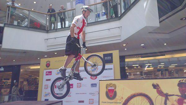 Trial rowerowy. Mistrzostwa Polski w Krakowie